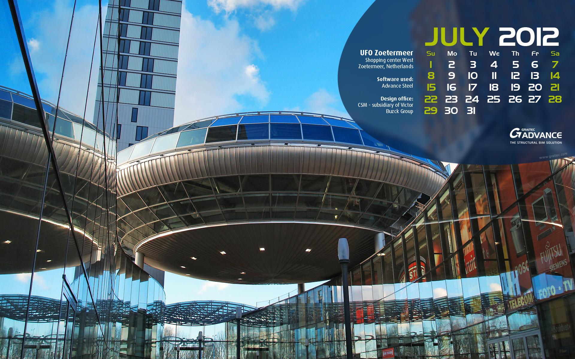 Download Graitec Wallpaper For July Civil Engineering