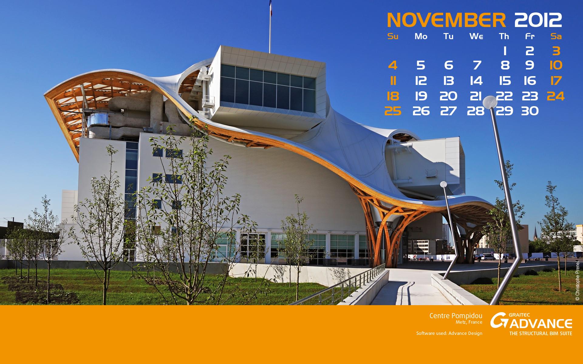 Download Graitec Wallpaper For November Civil Engineering Software Solutions
